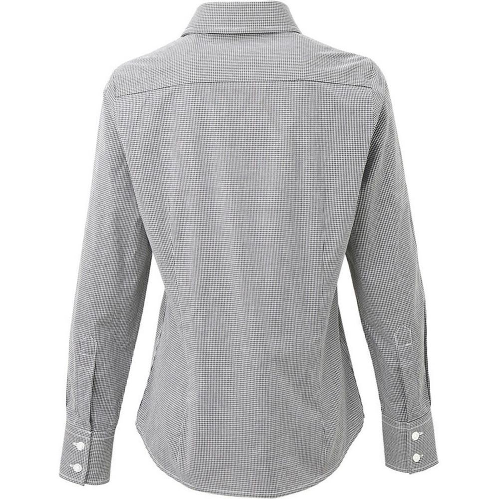 cc2e9973 Premier Ladies Gingham Long Sleeve Shirt. Email to a Friend · Zoom