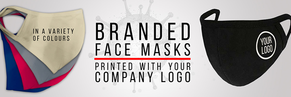 COVID 19 - Branded Face Masks With Your Logo