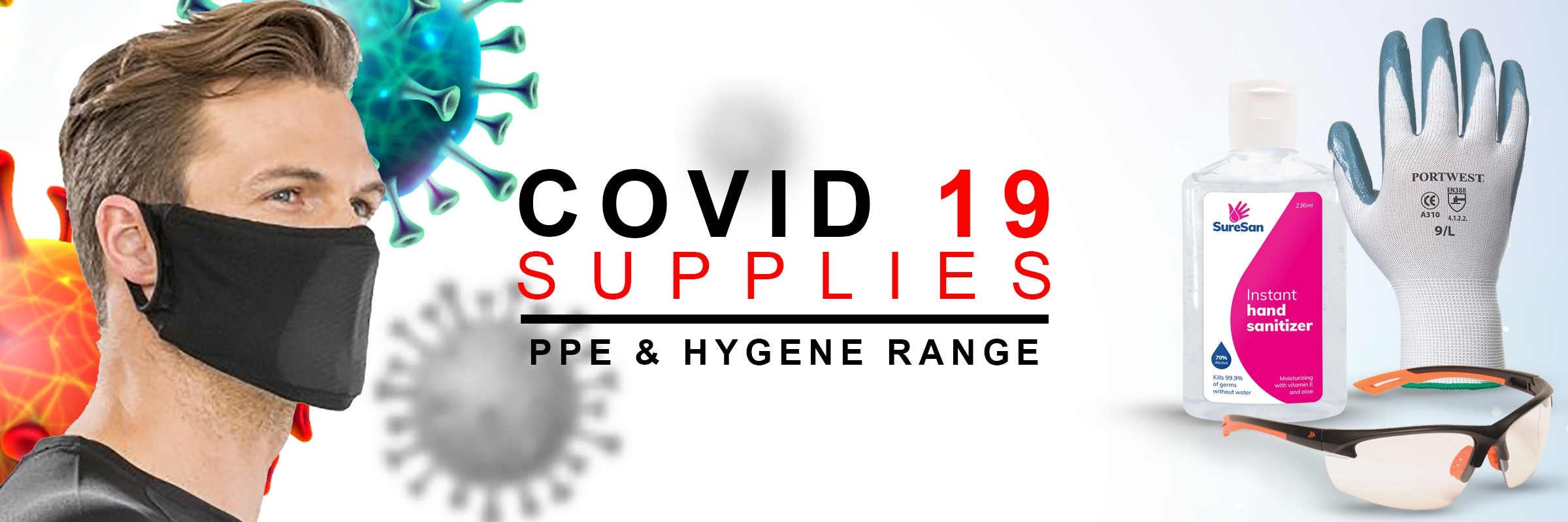 PPE & COVID 19 Equipment & Clothing