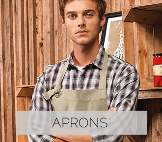 Hospitality Aprons Staff Uniforms