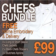 Chef Uniform Package Deal - Only £99
