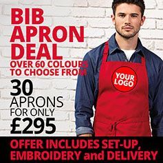 Bib Apron Deal - 30 for £295