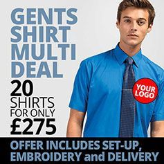 Gents Shirt Deal - 20 for £275