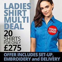 Ladies Shirt Deal - 20 for £275