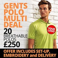 Gents Polo Deal - 20 for £250