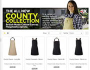 County Collection UK Made Aprons
